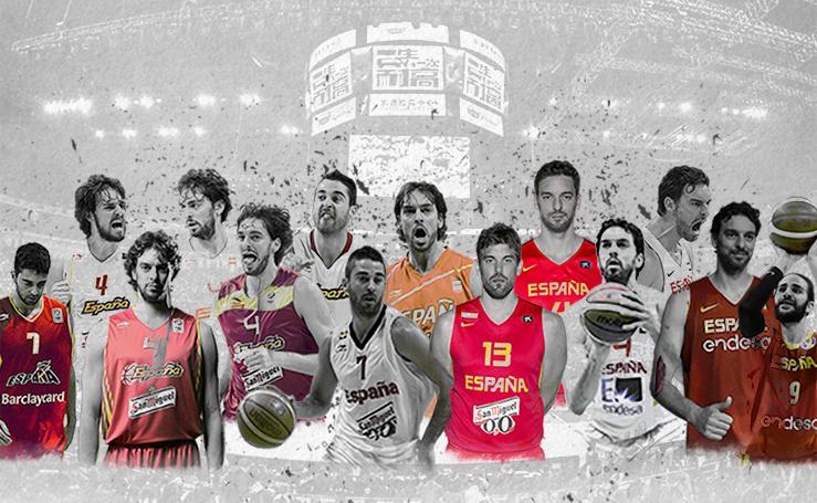 Los 15 años gloriosos del baloncesto español