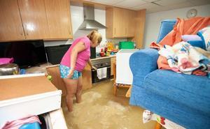 Los afectados por las riadas tienen hasta el final de semana para dar parte a los seguros