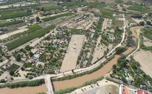 Advierten de una nueva crecida del río Segura a su paso por Cieza y Molina