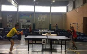 El tenis de mesa inaugura una nueva edición de los Juegos Deportivos del Guadalentín