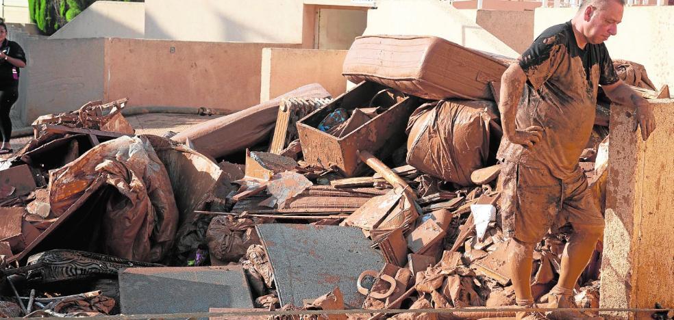 El Consorcio de Seguros estima por ahora unos daños de hasta 190 millones de euros