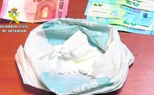 Tres detenidos en Lorca con 300 dosis de cocaína en un control con motivo de la fiesta patronal