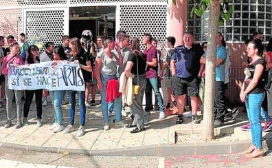 Protesta en Calasparra para reclamar el Bachillerato de Artes