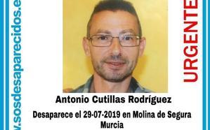 Denuncian la desaparición de un hombre de 48 años en Molina de Segura