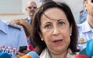 Margarita Robles: «Ha hecho parada de motor y se ha impactado»
