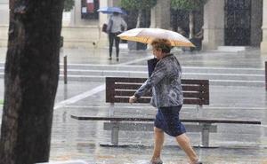Se esperan precipitaciones en la Región a partir del viernes