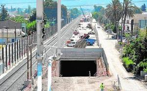 Adif adjudica dos contratos de control de obras de los tramos Sangonera-Totana y Sangonera-Lorca
