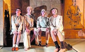 '¿Otro Quijote más?', 'Háblame' y 'Enrique IV' animan la escena en Bullas