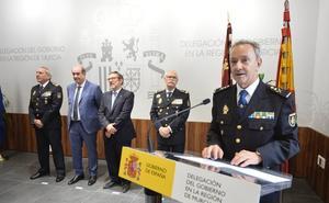 El director de la Policía exige al nuevo jefe superior en la Región de Murcia que sea «implacable» con la corrupción