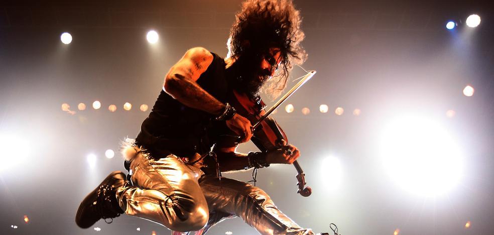 El genio del violín y el niño músico