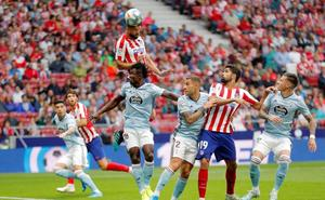 Atlético-Celta, en directo