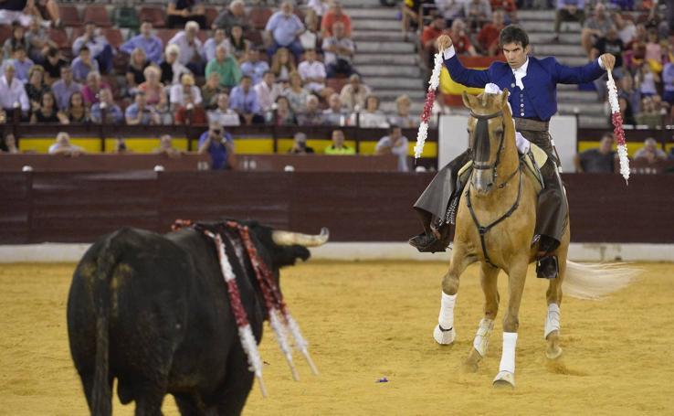 Corrida de rejones de la Feria Taurina de Murcia 2019