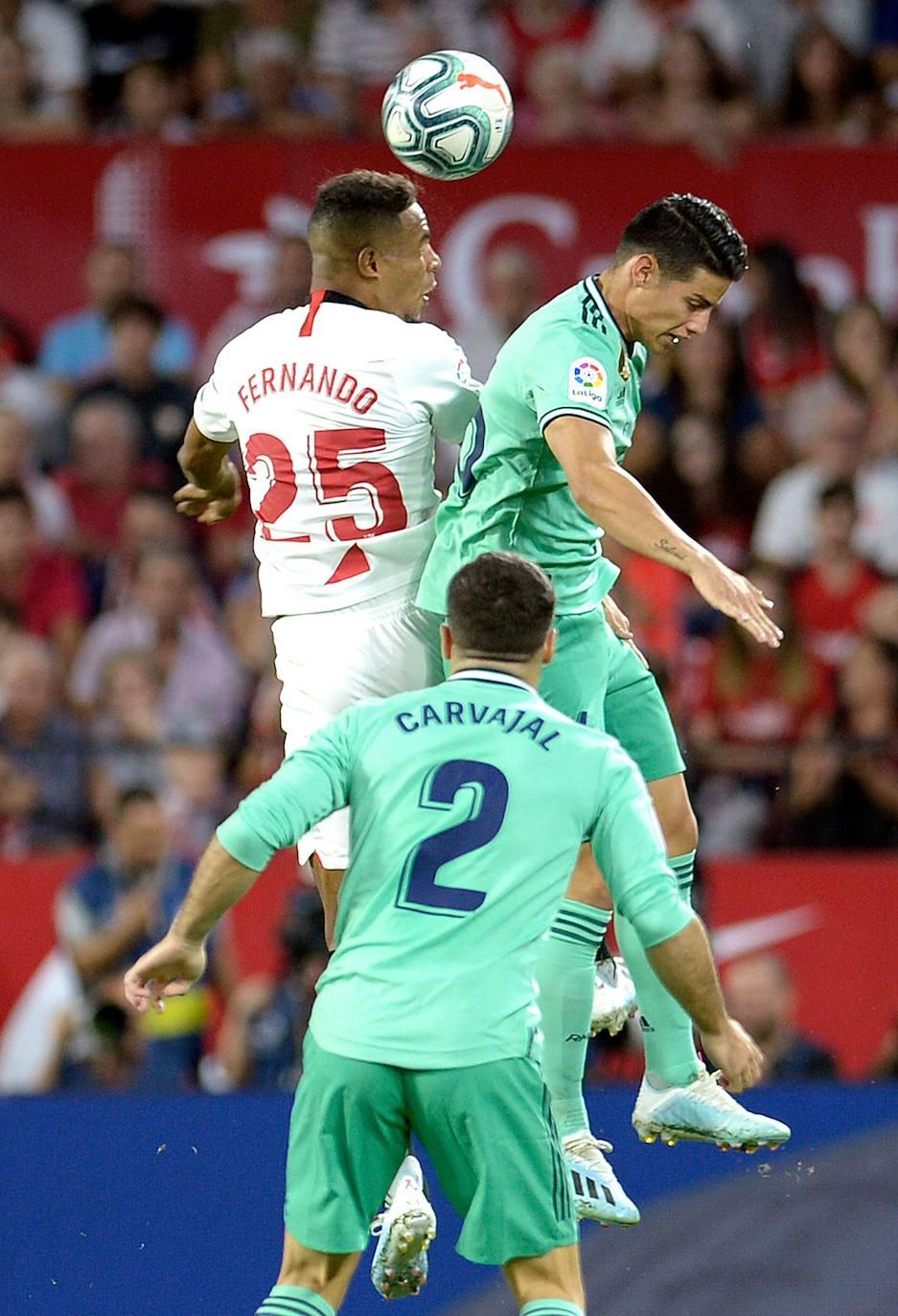 Sevilla-Real Madrid, en imágenes