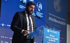 López Miras: «Debemos seguir apostando por presas, encauzamientos y trasvases»
