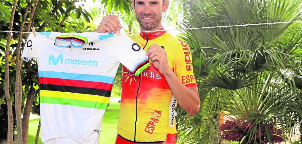 Valverde no regala su jersey arcoíris