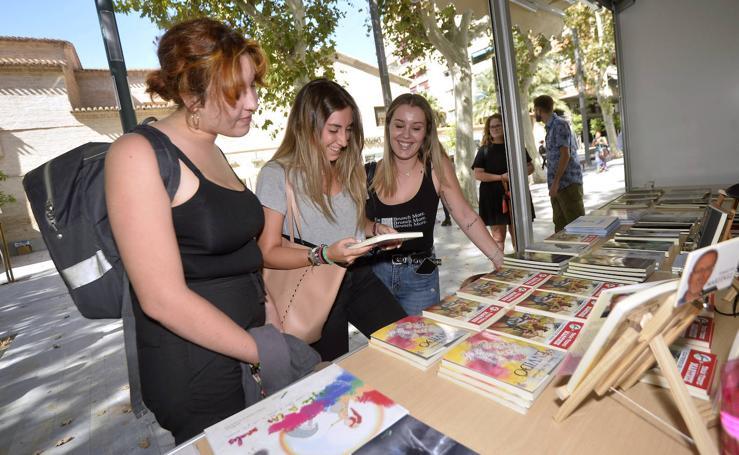 Inauguración de la II Feria del Libro de Murcia