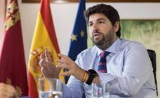 López Miras pide a la UE que active el Fondo de Solidaridad para Murcia