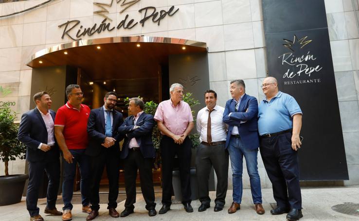 Comida entre 'amigos' antes del UCAM-Real Murcia