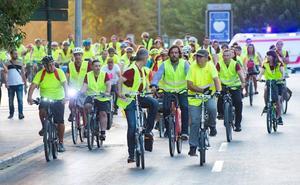 Subida al campus en bicicleta y donaciones de sangre en la UMU para fomentar la vida saludable