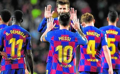 Ni una butaca vacía ante el Barça