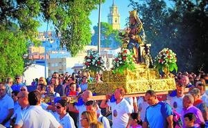 La Virgen del Oro de Abarán ya descansa en su santuario