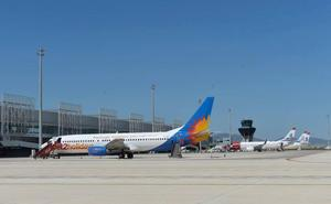 El aeropuerto de Corvera se beneficiará de la reducción de las tarifas de Enaire