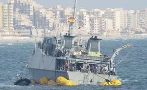La Armada considera «asumible» el coste de la reparación del cazaminas 'Turia'