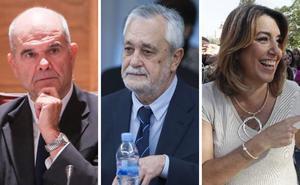 PP, Cs y Vox citan a Chaves, Griñan y Díaz en campaña para aclarar el uso de fondos públicos en prostíbulos