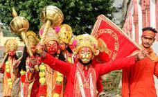 Rama vence a Ravana