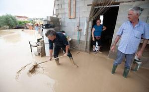 La Delegación del Gobierno cifra en 131 millones los daños en los municipios de la Región por la gota fría