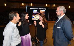 Más de 12.000 alumnos pasarán por la nueva temporada de 'Conciertos Escolares' de la OSRM