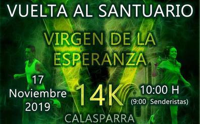 El 17 de noviembre, V Vuelta al Santuario Virgen de la Esperanza