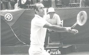 Muere Gimeno, el campeón más veterano de Roland Garros
