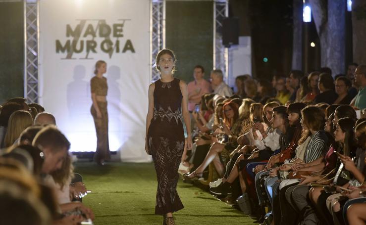 Desfiles de Cayetana Ferrer, Corbalán Studio y Gemma Pujalte en Murcia