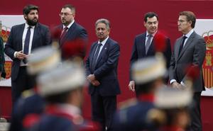 López Miras: «Los valores y la unidad de los españoles harán que nuestro país salga adelante»