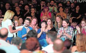 Pablo Iglesias pasa la página de Urralburu y acude a Murcia a cerrar filas en Unidas Podemos