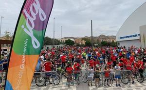 Más de 1300 personas participan y disfrutan del ciclo-paseo de los Juegos Deportivos del Guadalentín