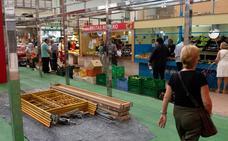 Reactivan la instalación de doce nuevos puestos en el Mercado de Santa Florentina