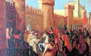 La infanta Beatriz se casó un agosto en Murcia