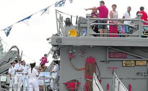 Visitas a buques por el Día de la Fiesta Nacional