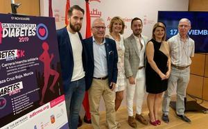 Murcia vivirá el Día Mundial de la Diabetes a la carrera