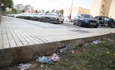 La suciedad se adueña de los barrios de Cartagena