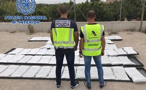 Detenidas cinco personas por tráfico de drogas e incautados 392 kilogramos de marihuana