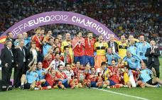 España, fiel a su cita con la Eurocopa desde 1996