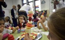 Salud garantiza los valores nutricionales de los menús de los comedores escolares