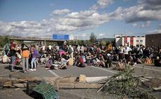 Los cortes en la AP-7 de los independentistas ponen en alerta al sector del transporte