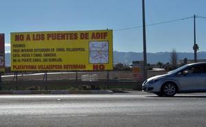 Adif solo soterrará uno de los cinco puentes del AVE de Lorca