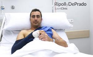 El Fandi, operado en Murcia por los doctores De Prado y Ripoll