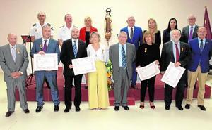 La Hospitalidad Santa Teresa entrega sus medallas