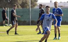Manu Viana vuelve a la normalidad y Forniés entrena al margen